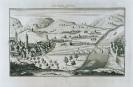 Bildarchiv Marburg - Jena von S?d-Ost,Die Saalebr?cke, 1735